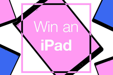 Image of iPad with win and iPad title.