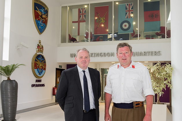 Read the Minister for Defence Procurement visits JFC article