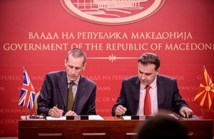 British Embassy provides support to Government of Macedonia and its ministries to increase transparency through effective communication