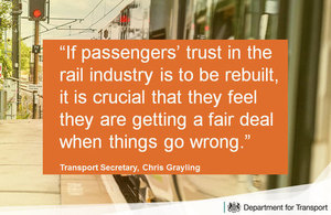 If passengers' trust in the rail industry is to be rebuilt, it is crucial that they feel they are getting a fair deal when things go wrong.