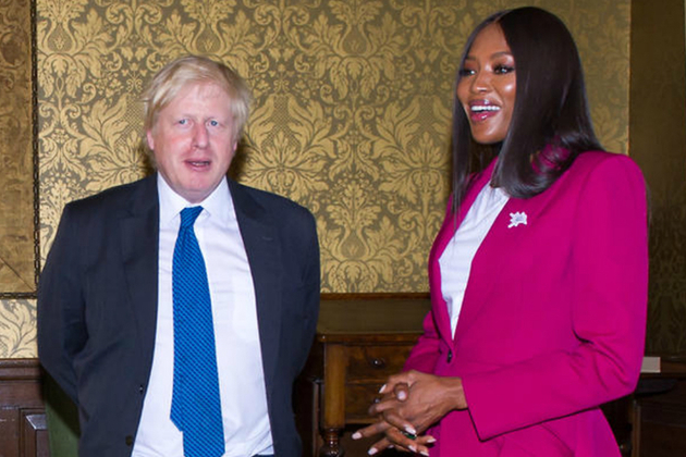 Foreign Secretary & Naomi Campbell discuss girls' education