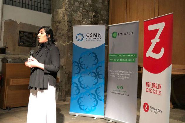 Nabeela Rasul at Ramadan event 2018