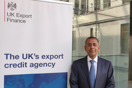 UKEF appoints Samir Parkash as Chief Risk Officer