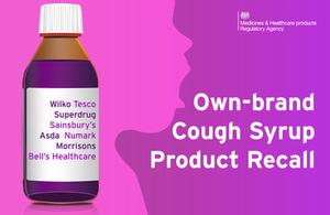 Cough syrup drug alert