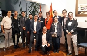 LGBT Discussion at British Residence