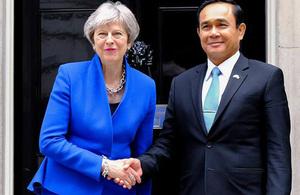 UK and Thai PM