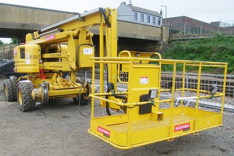 The mobile elevating working platform involved in the incident