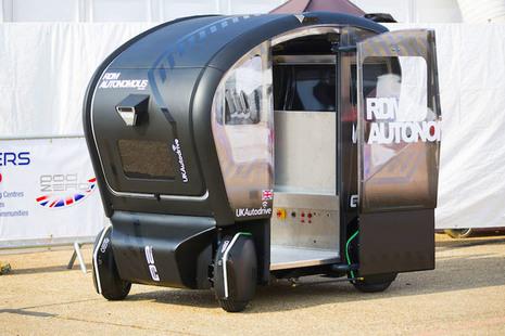 Image of autonomous vehicle.