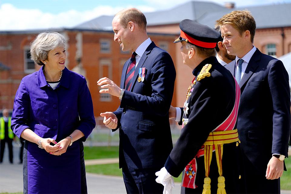 PM visits DNRC