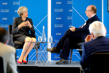 PM speaks at The Times CEO Summit