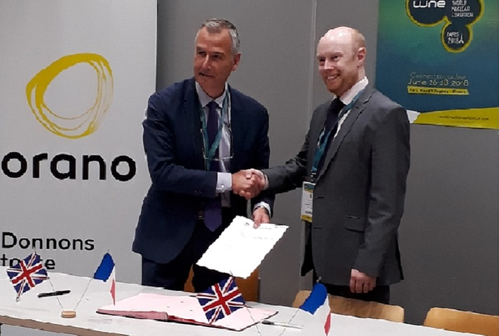 LLWR and Orano sign multi-million pound contract