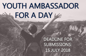Youth Ambassador for a day