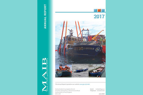 Front page of annual report 2017