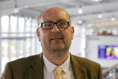 John Berry, a supply chain manager at Sellafield Ltd