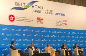 UK businesses urged to benefit from belt and road opportunities