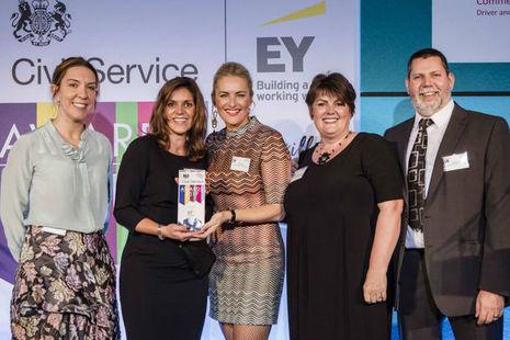 Civil Service Skills Award winners 2017