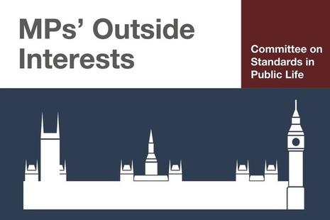 MPs' outside interests image