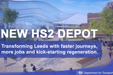 New HS2 depot location announced
