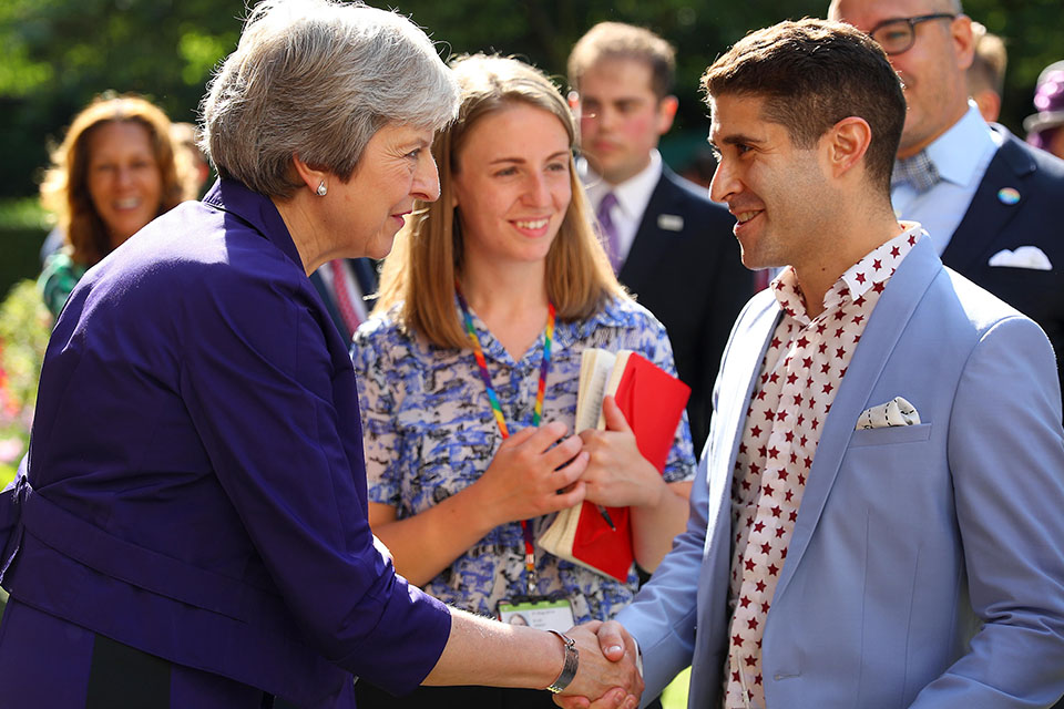 PM hosts a Pride reception