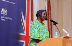 ジェンダーに基づく暴力のない世界に:駐日英国大使館でUNFPA事務局長が講演