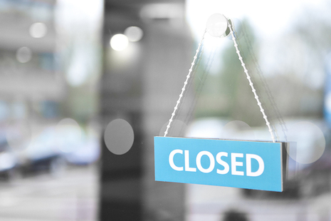 Notice about Belfast office being closed