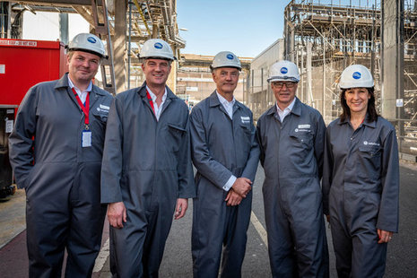 BEIS visit on the Sellafield site