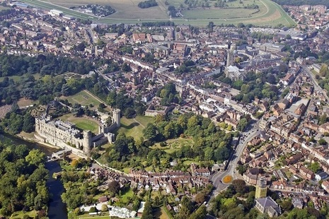 City of Warwick view from the sky (Credit: NorthgateWarwick.co.uk)