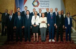 PM reveals package of measures to promote a more peaceful, prosperous and democratic Western Balkans