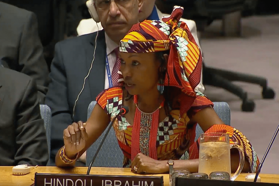 Hindou Ibrahim, Indigenous peoples' leader