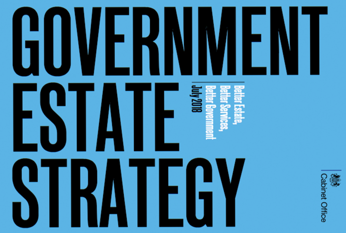 Front cover of Government Estate Strategy 2018