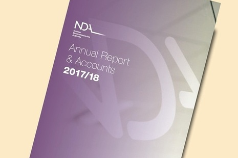 Annual Report and Account 2017 to 2018 front cover