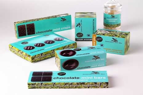 Picture of the Cocoda chocolate and confectionary range.