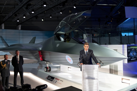 Defence Secretary launches Combat Air Strategy at Farnborough International Air Show