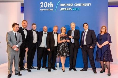 Civil Nuclear Constabulary and partner organisation win national award
