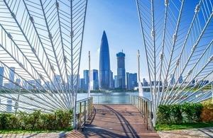 View from Shenzhen talent park