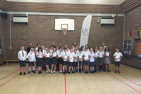 Usk Primary School wins poster competition