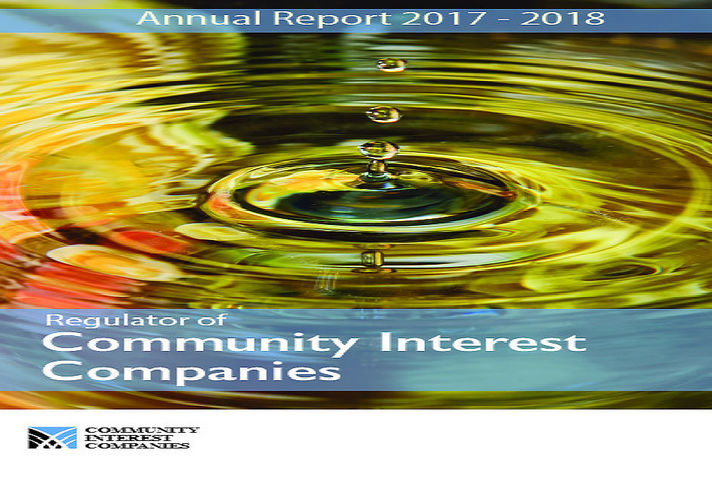 CIC Regulator: Annual Report 2017 to 2018