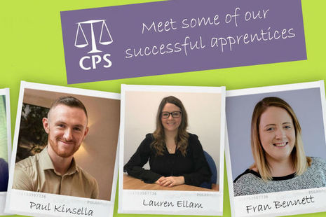 Crown Prosecution Service apprentices
