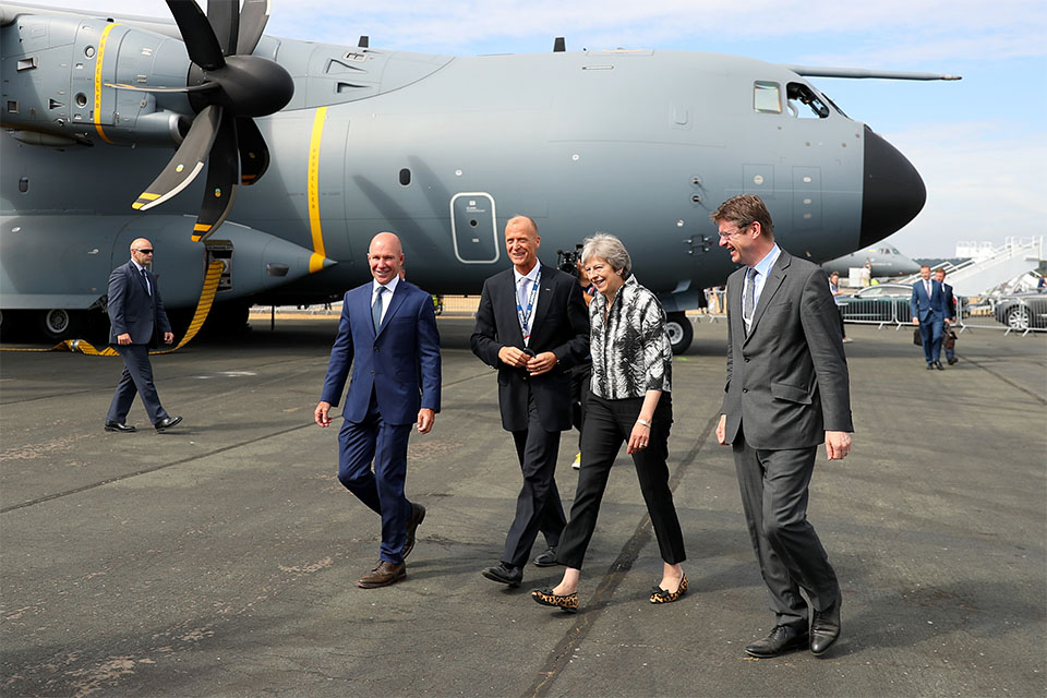 PM at Farnborough Airshow