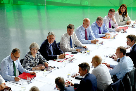 PM speaks at the Cabinet meeting in the North East.