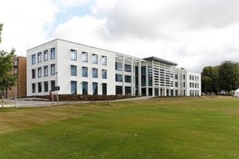 The flagship College building at Worthy Down. Photo courtesy of Skanska UK.