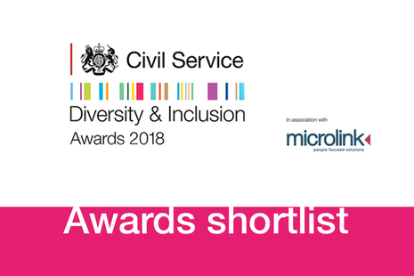 CS Diversity and Inclusion Awards 2018 graphic