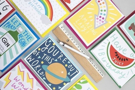 Picture of Alison Hardcastle card range