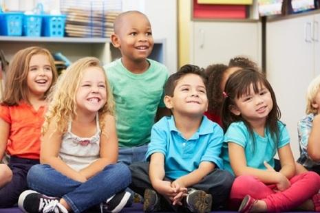 Children in a nursery school