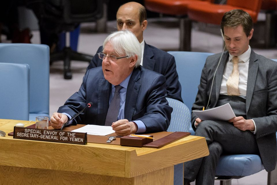 Special Envoy Martin Griffiths