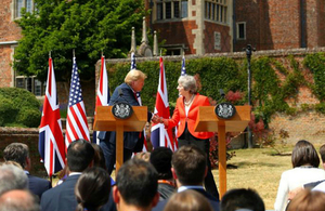 PM words at Chequers press conference: 13 July 2018
