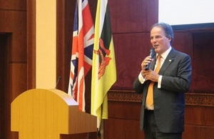Minister of State for Asia and the Pacific highlights UK-Brunei relationship, EU exit and the UK's future relationship with ASEAN