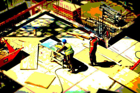 Image of a building site
