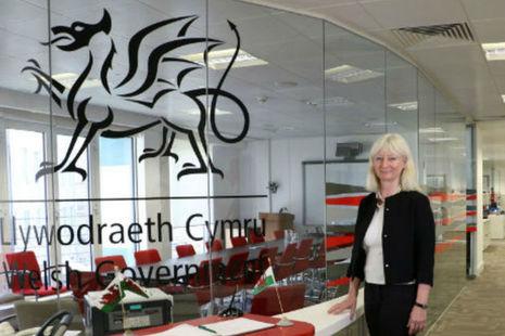 Shan Morgan, Welsh Government Permanent Secretary
