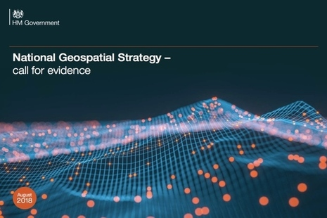 Geospatial Call For Evidence cover